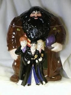 Harry Potter Kids With  Hagrid Cookie Jar New in Box