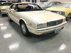 1992 Cadillac Allante CONVERTIBLE 1992 CADILLAC ALLANTE - INDY PACE CAR EDITION - PAINTED REMOVABLE HARDTOP - WOW