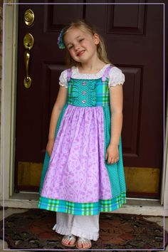 Girls Spring Easter 3 Piece Set Dress Top Ruffled Pants by Room6, $35.00