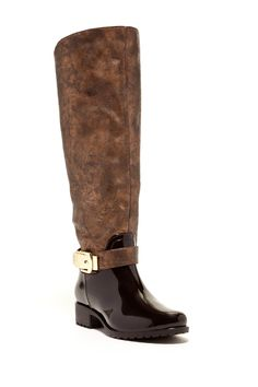 Fanny Metallic Riding Boot by GODIVA on @nordstrom_rack