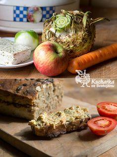 Kuchařka ze Svatojánu: CELEROVÁ POMAZÁNKA Tofu, Tempeh, Raw Vegan, Vegan Vegetarian, Muffin, Cooking, Breakfast, Type 1, Theater