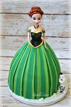 Princess Anna Cake