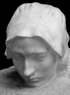La Pensée | Thought (Portrait de Camille Claudel) par Auguste RODIN (1840-1917) - Musée d'Orsay, Paris - Photo Hervé Leyrit.