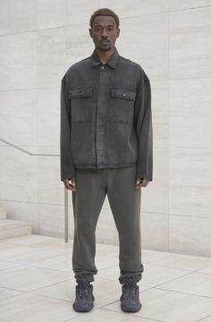 Yeezy Fashion, Workwear Fashion, Streetwear Fashion, Male Fashion, Yeezy Collection, Yeezy Season 6, Season 4, Mens Clothing Trends, Kanye West Style