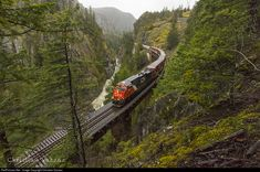 RailPictures.Net Photo: CN 2974 Canadian National Railway GE ES44AC at Squamish, British Columbia, Canada by Christian Vazzaz