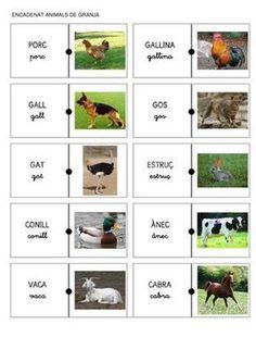ENCADENAT ANIMALS DE GRANJA I NOM
