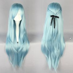 Wig Detail Sword Art Online Asuna ALO Wig Includes: Wig, Hair Net Length - 60CM Important Information: Fitting - Maximum circumference of 55-60CM Material - Heat Resistant Fiber Style - Comes pre-styl