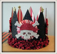 Lyam's Special Pirate Birthday Crown