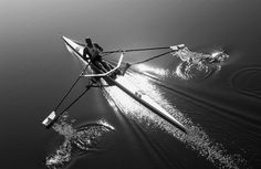 Quiet #rowing... magical