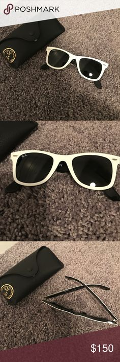 Ray Ban never worn club masters Never worn ray ban club masters. Very cute. In absolute perfect condition! Ray-Ban Accessories Sunglasses