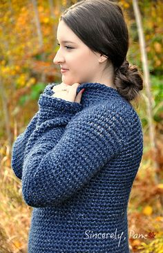 Sunday Sweater Great new crochet pattern by Sincerely, Pam!