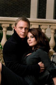 Eva Green & Daniel Craig...the color