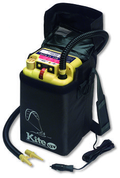 The bravo BST 12 Kite is the ultimate electric inflator - #pump for #kite_surfers .It comes with a protective bag so the unit can be used on the sand to blow up all size kites..!!