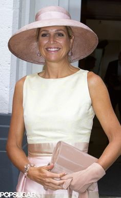 Queen Máxima Expertly Shows You How to Wear Pastels From Head to Toe