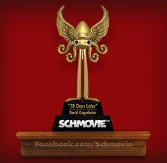 "AND THE SCHQUID FOR AN ACTION FILM ABOUT A PMS-ING VIGILANTE GOES TO... ""28 Days Later"" (David Gugenheim) with 15 votes. Congratulations again, David! You're a true cramp... er... champ!"