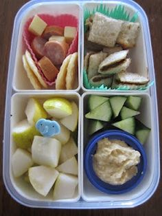 Snack Boxes ...a method (thats worked for us!), of feeding your child, healthy food in kid sized proportions throughout the day, without tantrums, fights or constant pestering! createwithkids