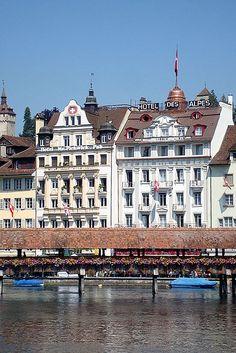 Hotel des Alpes, Lucerne, Switzerland