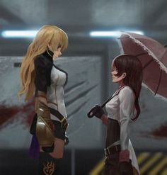 Yang and Neo, the height difference is real