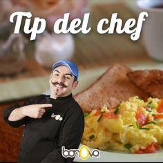 Sigue este tip y el huevito revuelto te quedará en-vi-dia-ble #Bonovo #SaldelCascarón #Huevos  #Cocina #Food #Comida #Delicioso  #Tipsdelchef