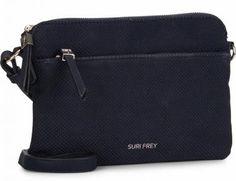 !!!Suri Frey Umhängetasche perforiert dunkelblau Romy Hetty Blue Suri Frey, Kate Spade, Bags, Dime Bags, Dark Teal, Artificial Leather, Sachets, Nice Asses, Handbags