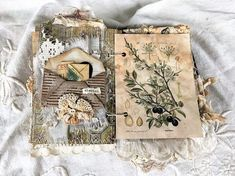 Vintage Heirloom Journal - Love