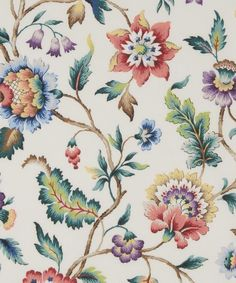 Liberty Fabrics' Eva Belle is lustrously detailed and rich in colour – printed here on our inimitable Tana Lawn cotton.