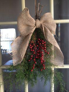 Christmas door decoration   Christmas