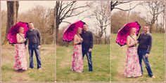 Fun with brollies!  Pre-wedding shoot by dj archer photography, lancashire wedding photographers