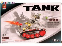 The 193 Piece Tank Snap Metal Model set is great for both kids and kids at heart! Both fun and educational, these DIY assembly toys are hands-on and help kids develop their fine motor skills and creative thinking! Metal Models, Mind Games, Heart For Kids, Toot, Creative Thinking, Fine Motor Skills, Toy Store, Educational Toys, Help Kids