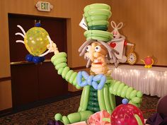 Alice In Wonderland Balloon Decorations | You just simply can't have a Alice in Wonderland party without the ...