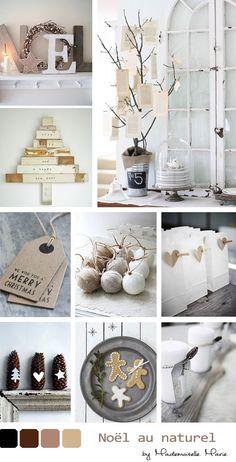 Wonderwall: Pretty natural Christmas palette. {via mariewonderwall.blogspot.fr}