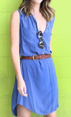 Summer Chic Shirt Dress byVelvetby Graham & Spencer