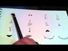 ▶ How to draw yourself in the style of Tim Burton Part 1 - How to draw like Tim Burton - YouTube