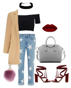 """Untitled #83"" by danielaprzhrtd on Polyvore featuring STELLA McCARTNEY, American Apparel, Miss Selfridge, Gianvito Rossi, Givenchy, women's clothing, women, female, woman and misses"