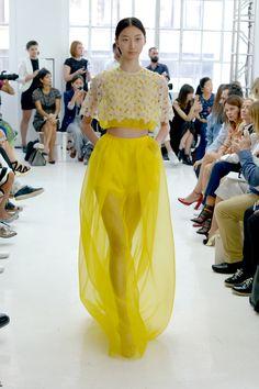 Delpozo Coleção Primavera 2015 - Semana de Moda de New York
