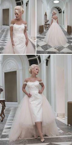 Sophia two in one wedding dress by House of Mooshki