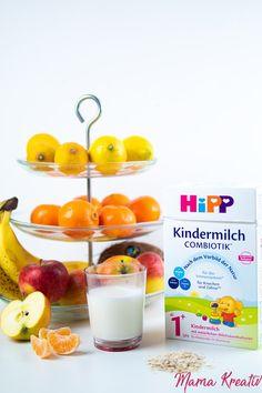 Frühstücksideen für Kleinkinder - gesundes Frühstück ab 1 Jahr — Mama Kreativ Baby Food Recipes, Kids Meals, Panna Cotta, Food Porn, Pudding, Ethnic Recipes, Desserts, Mama Baby, Led