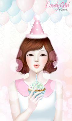 [두들두들]『러블리걸(My birthday)』 카카오톡 테마가 도착했어요~^^ 지금 두들두들에서 바로 받을수 있답니다~받으러가기:http://bit.ly/1sXMQkN제 생일 기념...