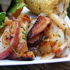 Grilled Potatoes and Onion Allrecipes.com