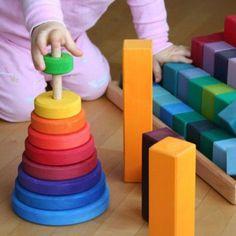 juguetes de madera, juguetes Grimms