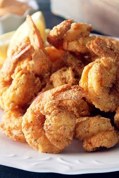 Creole Fried Shrimp- Mmmm, looks yummy but I would reduce the cooking time a little.