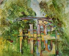 ART & ARTISTS: Paul Cézanne - part 9 Paul Cézanne 1888-90 Aqueduct and Lock oil on canvas Private Collection
