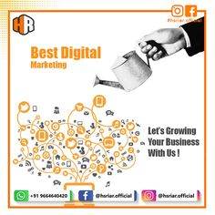 Hs Riar provides best digital marketing service to our customers at affordable rates.  Contact Us Email: hsriar.work@gmail.com Whtasapp: +91 9664640420  #hsriar #digitalmarketing #marketing #brand #growbusiness #makebrand #bestmarketingservice #vadodara #business #startup #makeover #socialmedia #socialmediamarketing #seo Start Up Business, Growing Your Business, Social Media Marketing Business, Digital Marketing Services, Startups, Seo