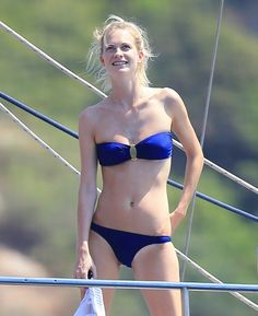 Pin for Later: Can't-Miss Celebrity Pics!  Poppy Delevingne showed off her bikini body in Ibiza on Wednesday.