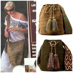 Visto en Hola! Anne Igartiburu disfrutando del verano y su bolso Wayuu