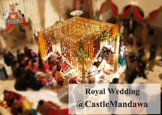 Castle Mandawa: One of #Rajasthan's oldest #HeritageDestinations that have been restored in a #Royal and #LuxuryWedding paradise equipped with all modern facilities….