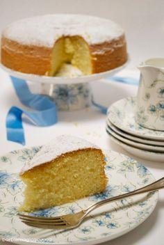 Barbie Magica Cuoca - blog di cucina: Torta al latte caldo - hot milk sponge cake