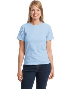 Ladies 5 oz. ComfortSoft® Cotton T-Shirt - Free ads, Free Classifieds, Free Advertising, Business Listings