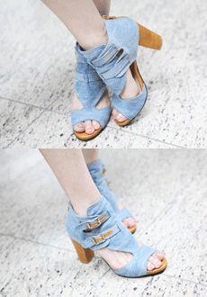 멜로우 앵클(데님소재라서 어디에든 착용감이 좋은 신발)  SFSELFAA0012026