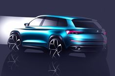 Skoda Yeti wordt Bigfoot: concept SUV in Genève